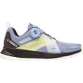 adidas TERREX Two Boa Löparskor Dam gul/blå